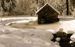 Winter Cabin